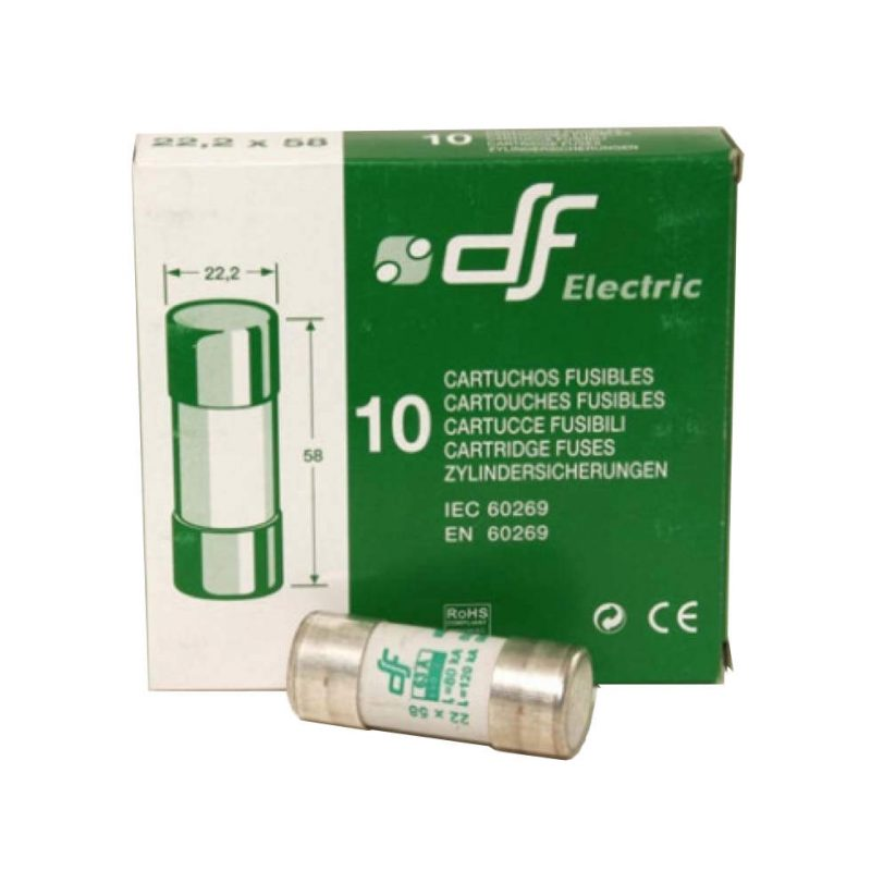 125 Amp 22 58 Am Fuse 10 Pack Charter Controls